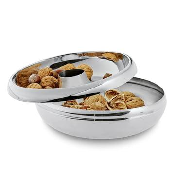 Philippi - Coupe à noix avec dépôt pour coquilles Cascara - ouverte