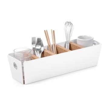 Konstantin Slawinski - Rangement de table Shuffle-Box, blanc, décoration de cuisine
