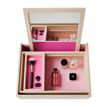 Nomess - Boîte à bijoux Balsabox Personal, rose