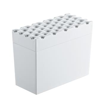 Koziol - Boîte à pain croquant suédois Brød, blanc
