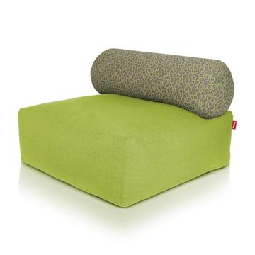 Fatboy - Pouf Tsjonge, vert, gris clair/cercles verts