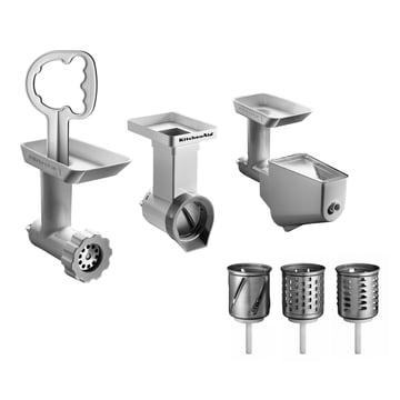 KitchenAid - Set d'accessoires pour le robot ménager Artisan avec hachoir et mixeur (3pc.)