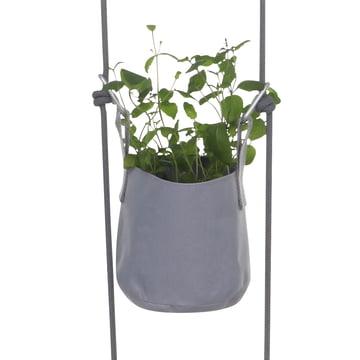 Trimm Copenhagen - Pots suspendus Vertical Flowerpot, gris