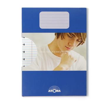 Atoma - Pack de recharge Basic A4 ligné, avec emballage