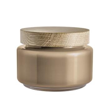 Holmegaard - Bocal avec couvercle Palet en marron pour 1,2 l
