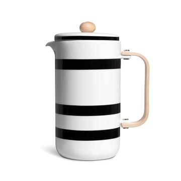 Kähler Design - Cafetière à piston Omaggio 0,8l en noir