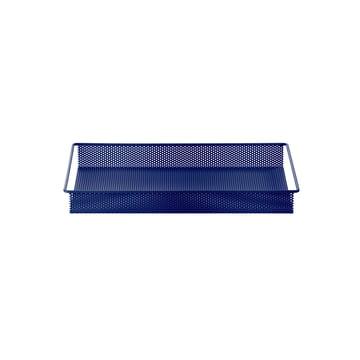 Metal Tray Small de ferm Living en bleu