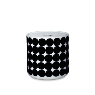 Le bocal Oiva Siirtolapuutarha dans la taille 700 ml en blanc/noir