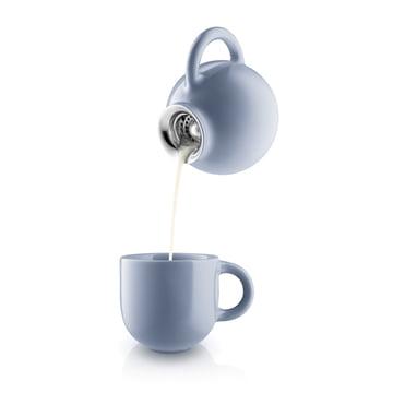 Pot à lait et tasse Globe en Nordic Blue
