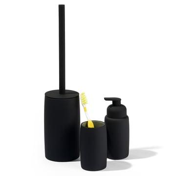 Distributeur de savon, gobelet à brosse à dents et brosse de toilettes de Södahl