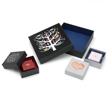 Graphic Boxes par Alexander Girard pour Vitra