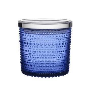 Boîte de rangement Kastehelmi 116 x 114 mm d'Iittala en bleu outremer