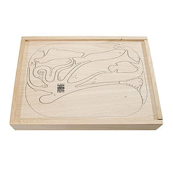 Puzzle en bois «Sedici Pesci »