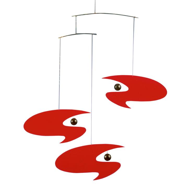 Stella Nova Mobile rouge de Flensted Mobiles
