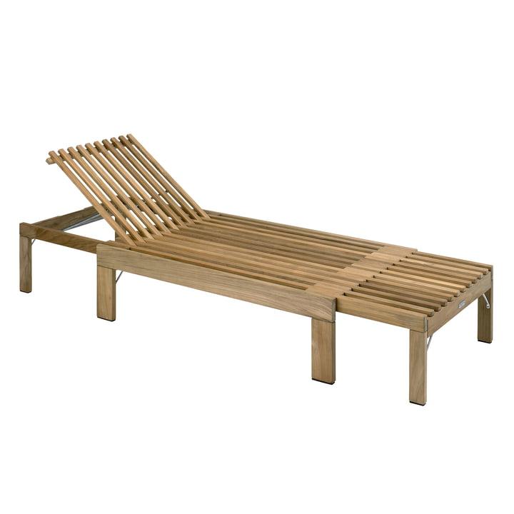 Skagerak - Chaise longue Riviera, vue latérale