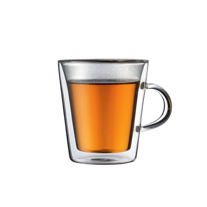 Bodum CANTEEN verre avec anse - 0.2l (set de 2 verres)