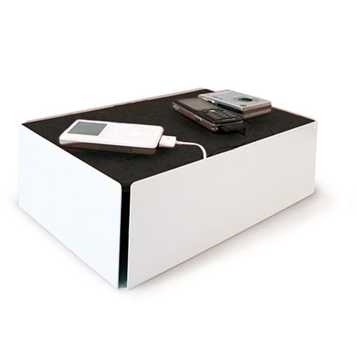 Charge-Box - blanc / noir