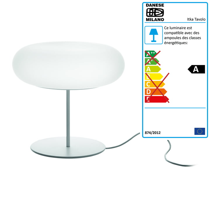 Lampe de table Itka Tavolo