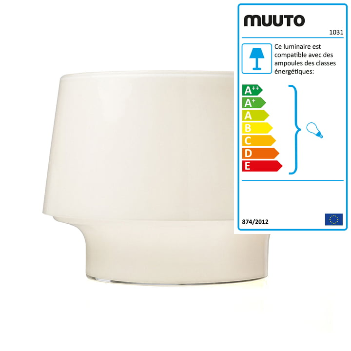 Muuto - Cosy in White lampe de table