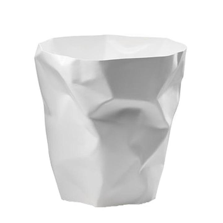 Essey - Poubelle poubelle en blanc