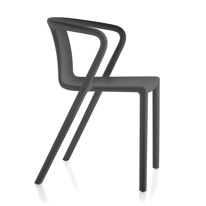 Fauteuil Air-Armchair de Magis en gris anthracite