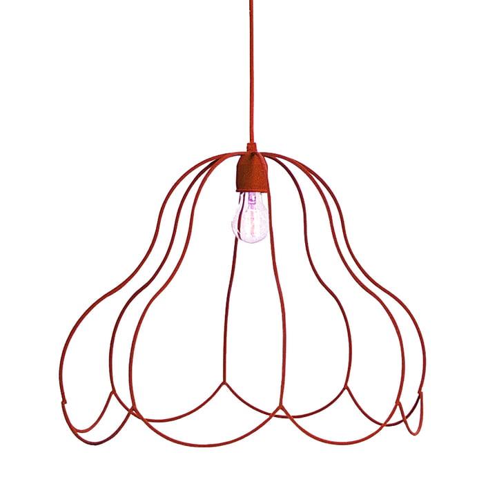 LADP - Suspension lumineuse Emperors Lamp, petit format, rouge