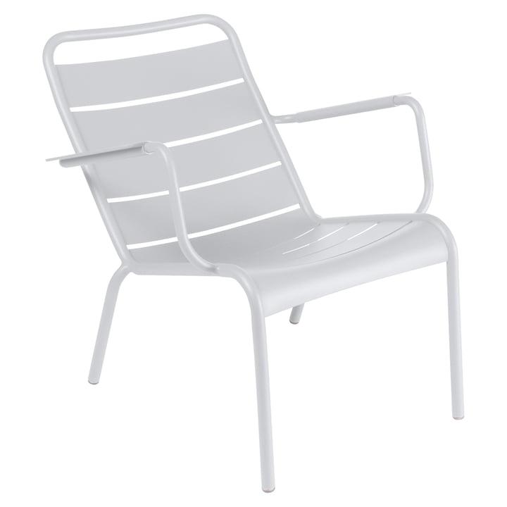 Luxembourg fauteuil profond de Fermob en coton blanc
