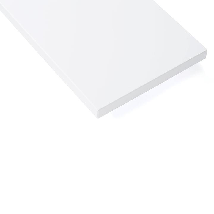 String planche d'étagère, blanche