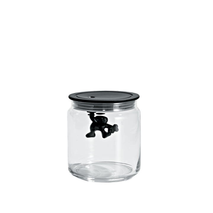 A di Alessi - Boîte de cuisine Gianni, 70 cl, noir