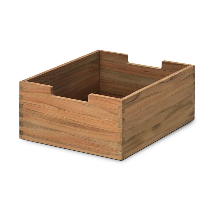 Skagerak - Cutter Box, Tebois teck, petit