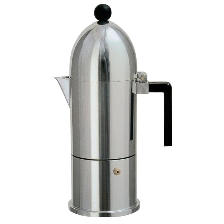 A di Alessi - Machine à expresso La Cupola 9095, 30 cl, noir