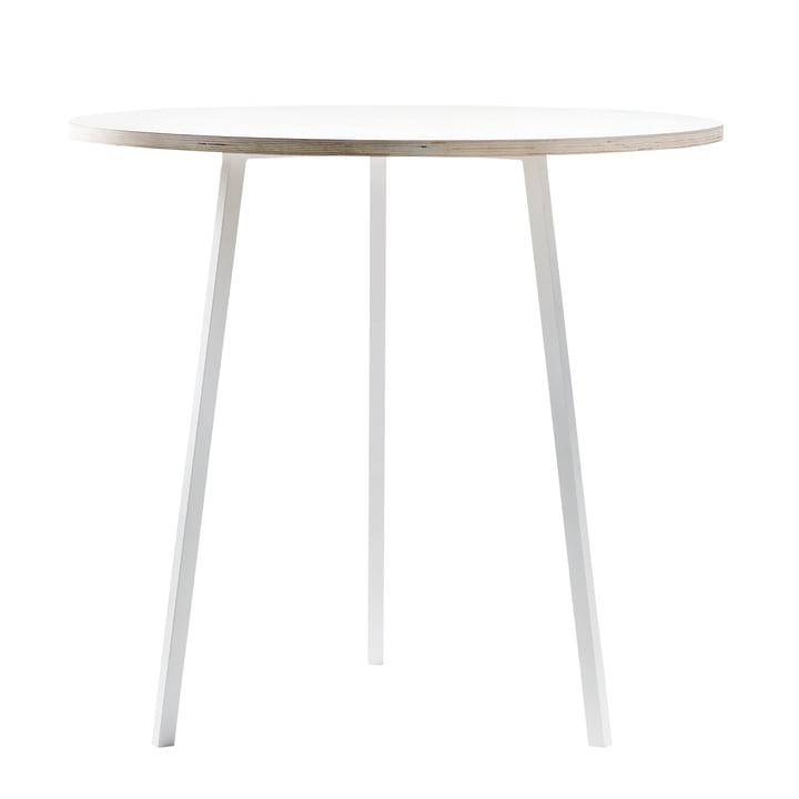 Hay - Loop Stand table bistrot, blanc