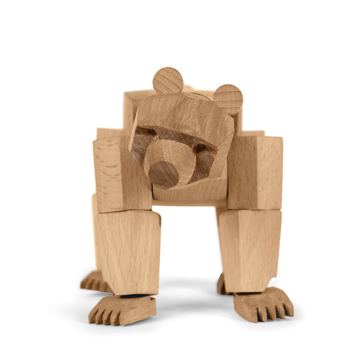 areaware Wooden Creatures - Ursa l'ours, petit