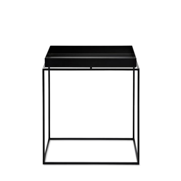 Hay - Tray Table carrée, 40 x 40 cm, noir