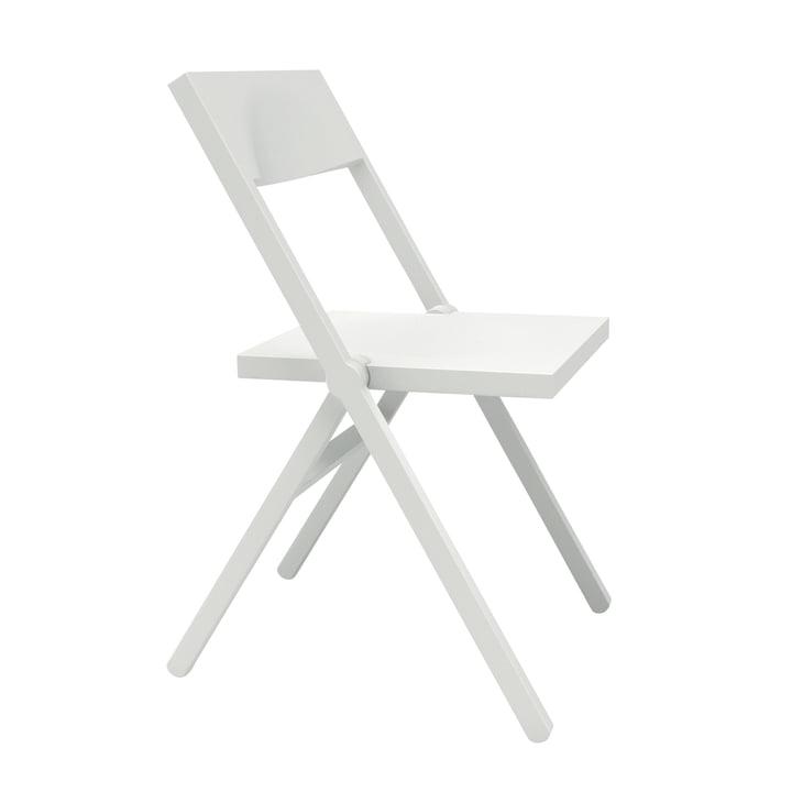 Alessichair by Lamm - Piana Chaise pliante, blanc