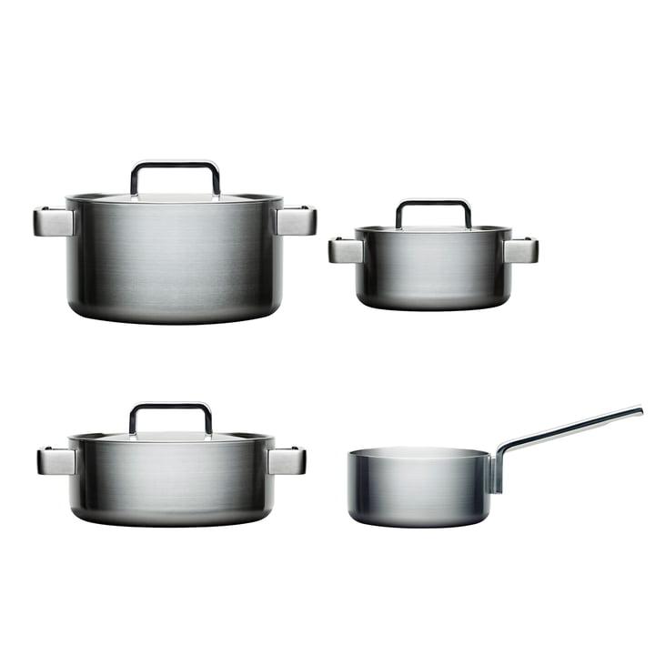 Tools Set 4 pièces: 1 casserole 2l + cuiseur 2, 3, 4 l