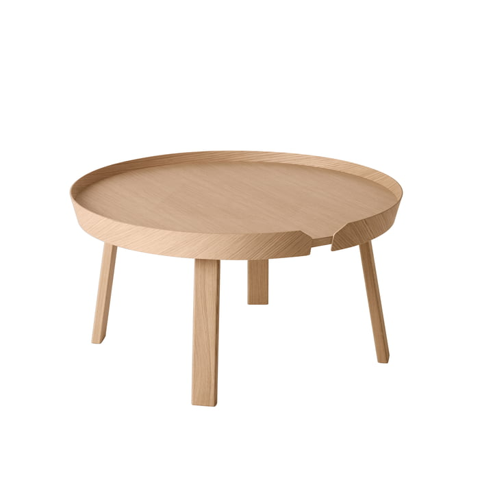 Muuto - Around table d´appoint large, chêne