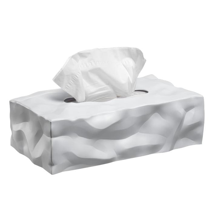 Wipy 2 Boîte à mouchoirs cubique de Essey en blanc