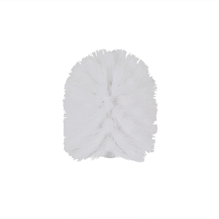 Authentics - Brosse WC de rechange Lunar, blanc