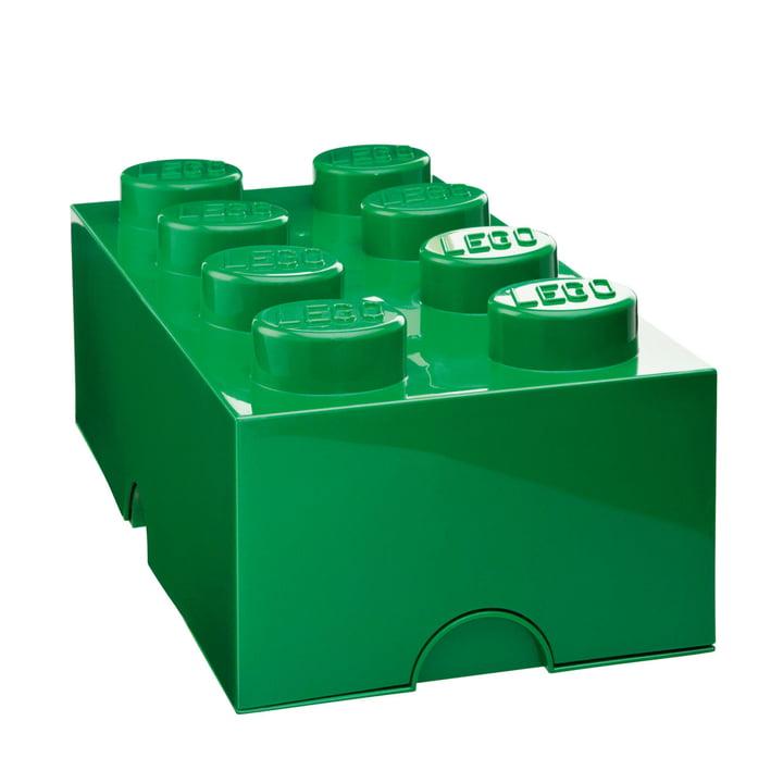 Lego - Boîte de rangement8, vert foncé