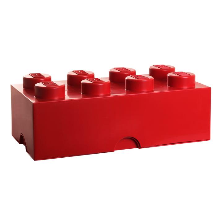 Lego - Boîte de rangement8, rouge