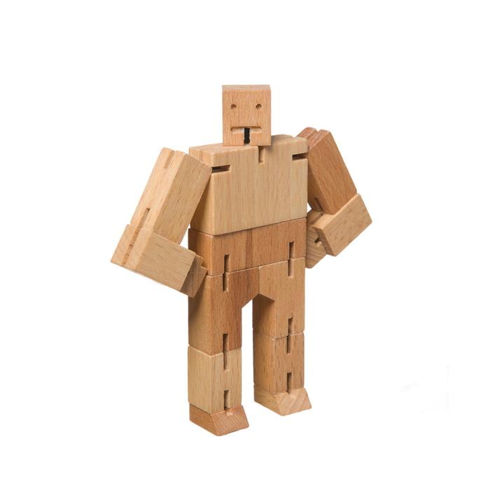 Areaware - Micro Cubebot, hêtre