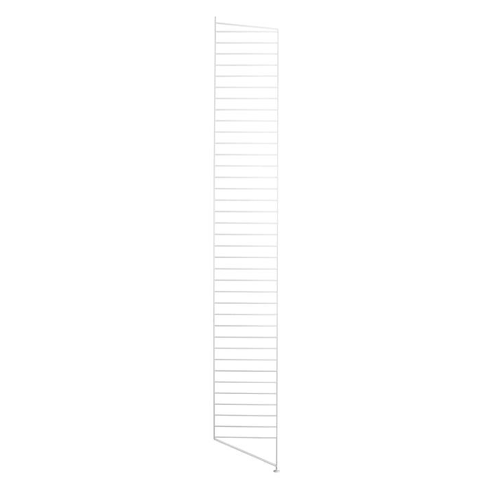 String élément de sol pour système de rayonnage, 200 cm, blanc