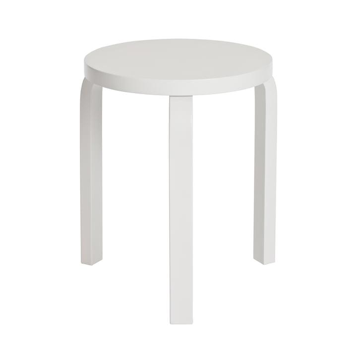Artek - Hocker 60, blanc/blanc