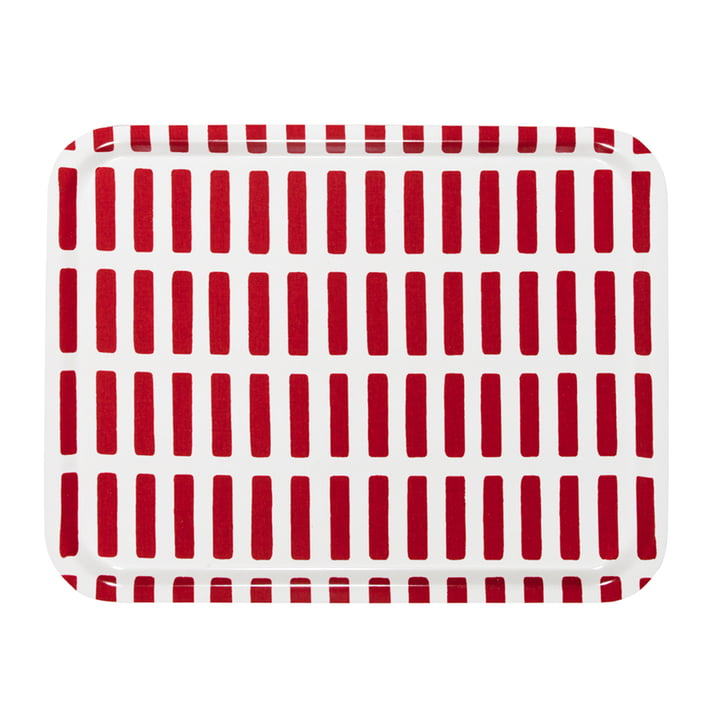 Artek - Tableau Siena, grand, rouge/blanc