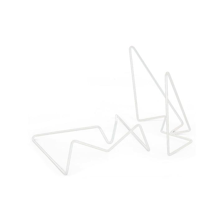 Jacob Schenk - Tick small, blanc (mat satiné)