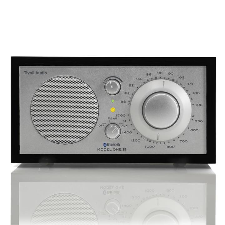 Tivoli Audio - Model One BT, noir/argent, front