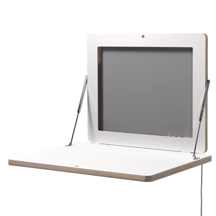 Müller Möbelwerkstätten - Workframe, blanc - ouvert