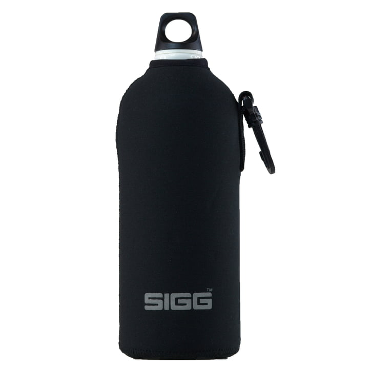 SIGG - Enveloppe néoprène, noir, 1,0l