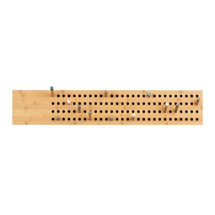 Nous faisons du bois - Tableau d'affichage armoire horizontale, bambou naturel